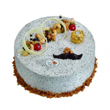 芝麻堅果-生日蛋糕-喜洋洋烘焙美食購物網-傳統美食好滋味